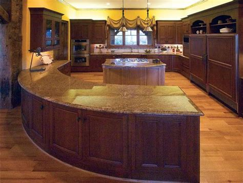 kitchen islands and bars pictures of log home kitchens times guide to log homes