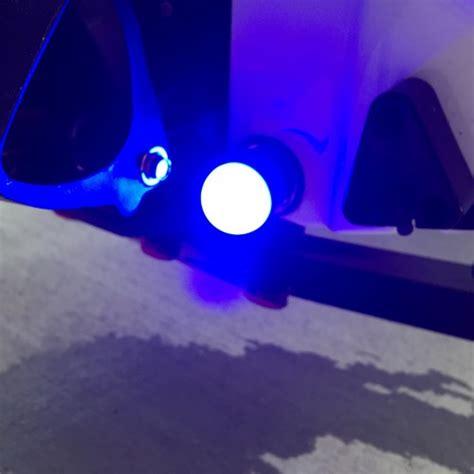 marine drain plug led light 6 led drain plug light