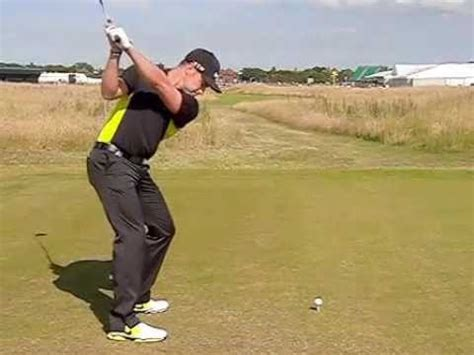 golf swing down the line view oliver fisher golf swing driver down the line view july