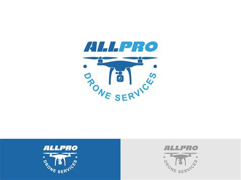 designcrowd free professional bold logo design for allpro drone services