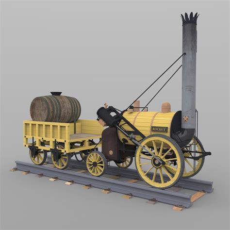 Diy Train Table Rocket Train Poser 3d Model Rigged Pz3 Pp2 Cgtrader Com