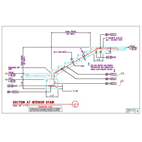 irc section 267 c 4 stair section dwg sectional ideas
