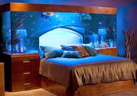 Aquarium Headboard by 15 Coolest Fish Bowls And Awesome Aquarium Designs Part 3