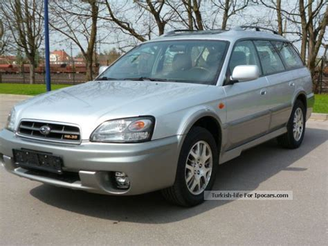 2005 subaru outback h6 3 0 4wd leather car photo and specs