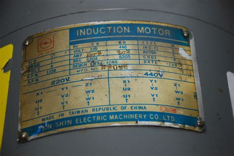 jin shin induction motor 3218 0002 jpg of new jin shin electric machinery co 3hp 3 phase motor 220 440 volts 3218
