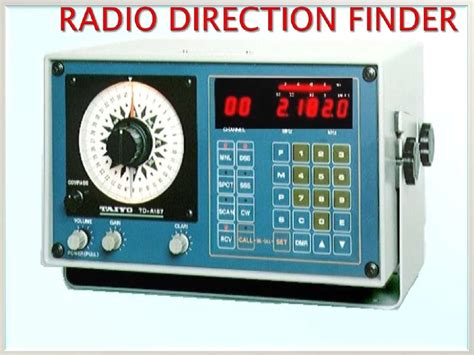 boat radio direction finder radio direction finder