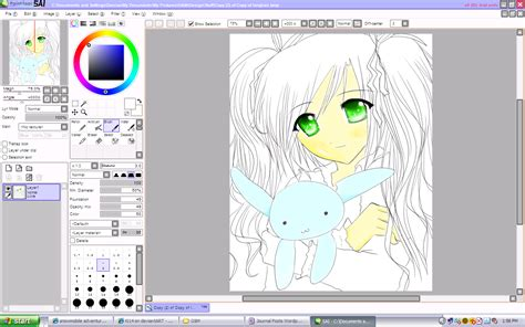 of paint tool sai sai software of