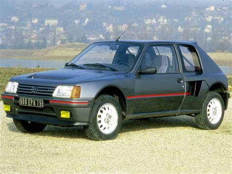 peugeot 205 t16 peugeot 205 t16 1984 1985 autoevolution