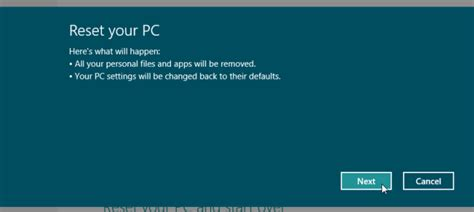windows resetting your pc windows 8 reset your pc never works help operating