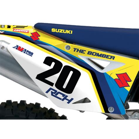 Rch Suzuki Graphics Stellar Mx Official 2013 Rch Suzuki Retro 50th Anniversary