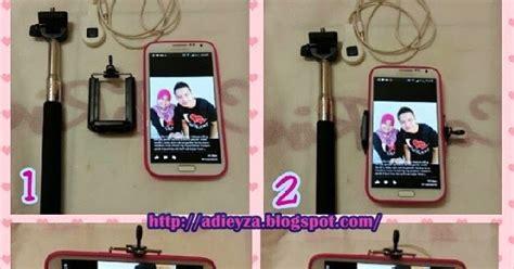 Handphone Monopod monopod shutter untuk handphone android adieyza