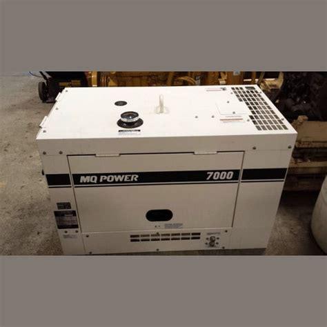 Genset Multi Equipment multiquip diesel generator supplier worldwide used 7 kw