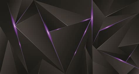 black abstract wallpaper vector abstract black background with purple light vector