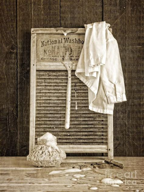 Vintage Laundry Room Print By Edward Fielding Vintage Laundry