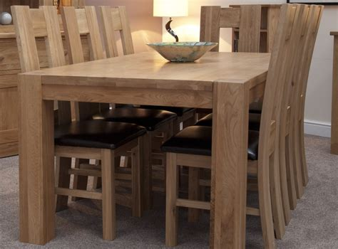 Chunky Dining Room Table Pemberton Solid Oak Dining Room Furniture Large Chunky Dining Table Ebay