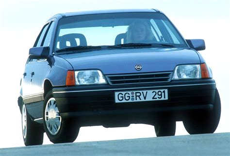 opel volkswagen europe 1989 vw golf and opel kadett dominate best