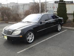Mercedes 2000 S430 2000 Mercedes S430 Base Sedan 4 Door 4 3l