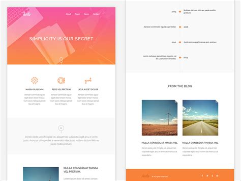 free html email template 20 free email newsletter templates for 2018 dribbble