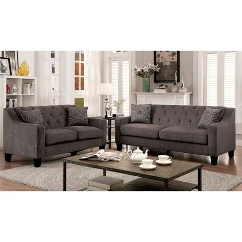 furniture of america ruggend 3 piece storage california furniture of america kendly 3 piece chenille sofa set in mocha idf 6096 3pc