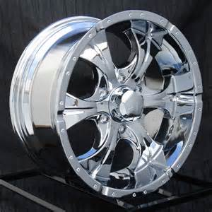 Chrome Truck Wheels 17 Inch Chrome Wheels Rims Chevy Gmc 6 Lug 1500