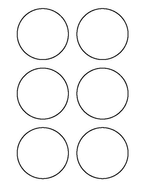 3 inch circle template free circle templates to print clipart best