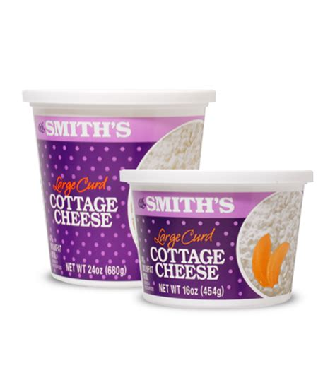 cottage cheese serving size cottage cheese smiths brand website