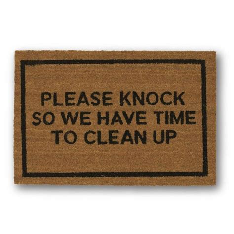 Humorous Doormats 25 Best Ideas About Doormats On