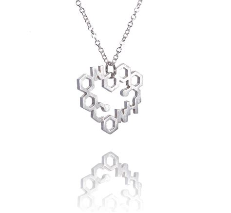 personalised chemistry necklace by wong