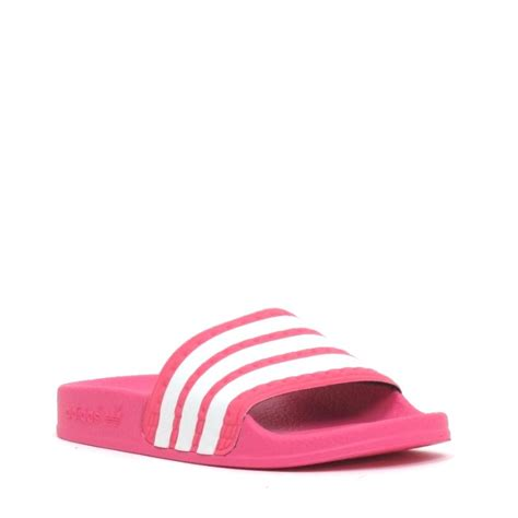 badslippers adidas adidas slipper roze