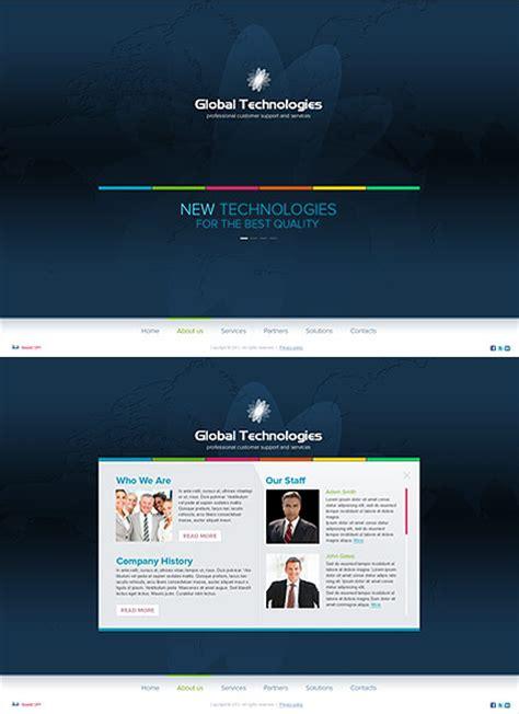 New Technology Template New Technology Html5 Template Best Website Templates