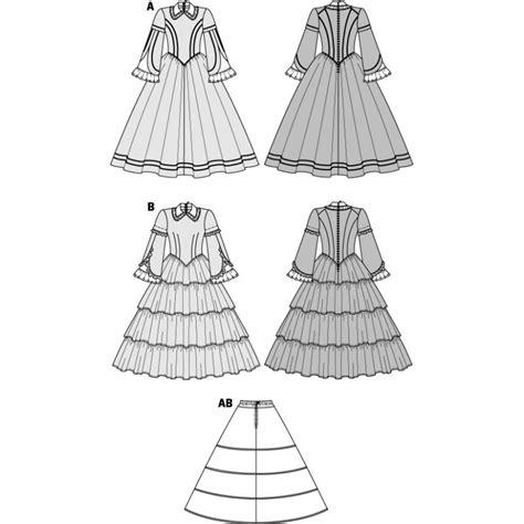 history pattern c history 1848 sewing pattern burda n 176 2768 ma petite mercerie