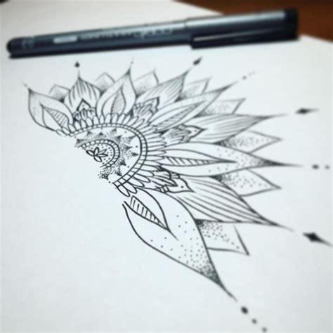 sunflower mandala tattoo best 25 mandala wrist ideas on henna