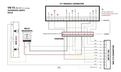 t5 headlight wiring diagram wiring diagram