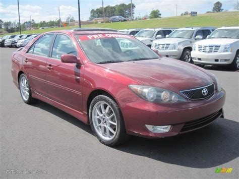 2006 toyota camry se salsa pearl 2006 toyota camry se exterior photo