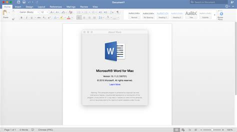 Ms Office Mac microsoft office for mac 2016 187 mac os x
