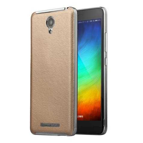 Back Cover Back Leather Xiaomi Redmi Note 2 Prime luxury pu leather back cover for xiaomi redmi note 2