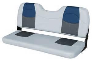 Jon Boat Seat Cushions Blast Tour Series 48 Quot Bench Seat Gray Charcoal Navy