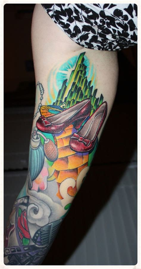 wizard of oz tattoos 1000 images about wizard of oz on