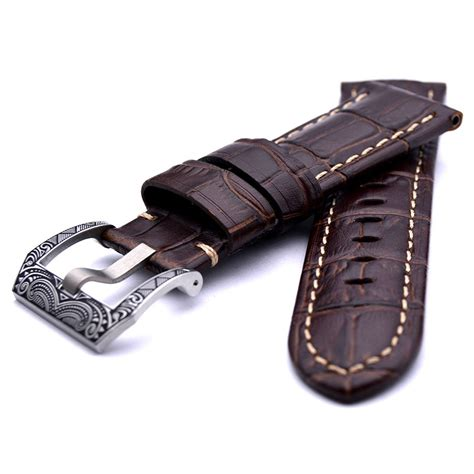 Panerai Radiomir Black Silver Brown Leather panerai pins