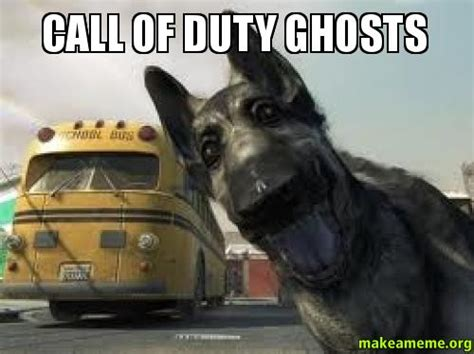 Cod Ghosts Meme - call of duty ghosts make a meme