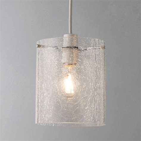 Glass Ceiling Light Shade Buy Lewis Easy To Fit Dallas Crackle Glass Ceiling Shade Lewis