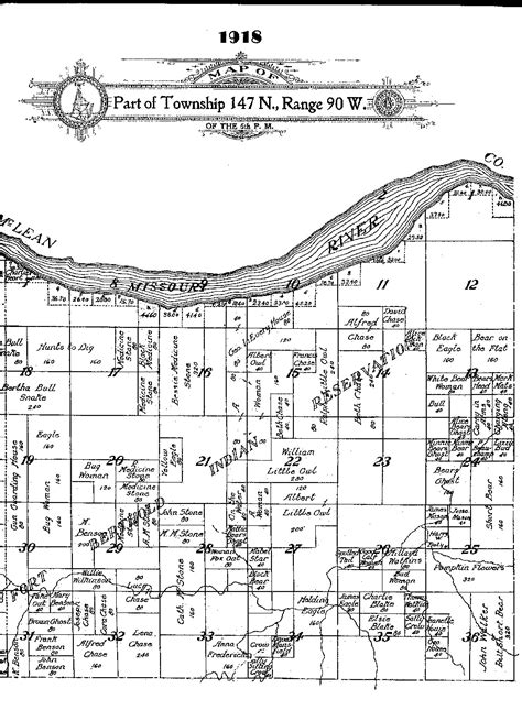 Dakota County Section 8 by Section 4 Creating Fort Berthold Reservation