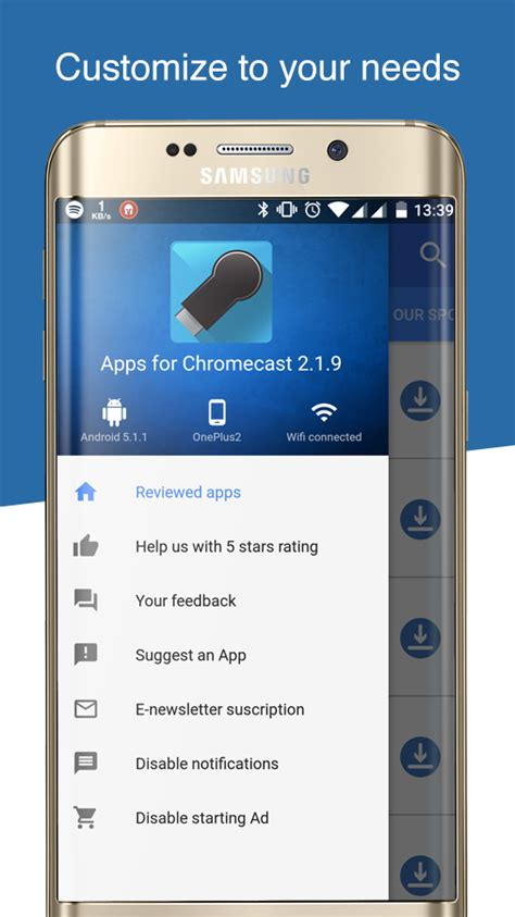 how to chromecast from android apps for chromecast android apps on play
