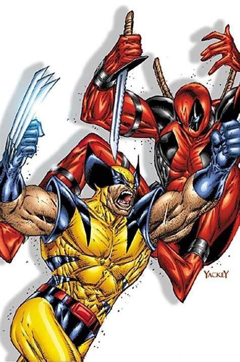 imágenes de deadpool vs wolverine marvel comics fumetti personaggi deadpool vs wolverine