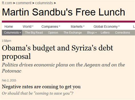 Financial Times Newsletter ft starts daily economics newsletter talking biz news