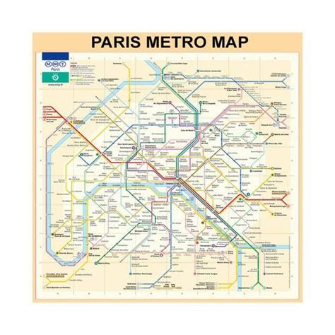 printable version of paris metro map paris metro map peach giclee print by bill cannon at art