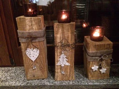 Table Chandelier Candle Holder 25 Best Ideas About Weihnachtsdeko Aus Holz On Pinterest
