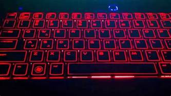 change color of keyboard alienware laptop keyboard color change