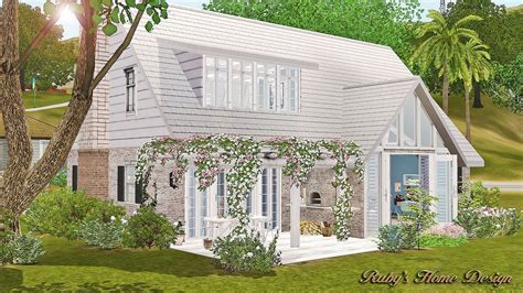 the houes sims3 minty house 香草薄荷 ruby s home design