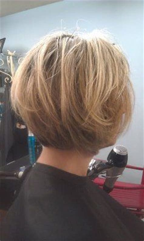layering hair versus tapering hair layered bob hairstyles back view tapered bob with